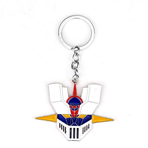 - Dan's Collectibles and More Mazinger Z Key Chain Keychain Super Giant Robot Japanese Anime Manga Cartoon 3D Bronze Head w/Gift Box (ColorMazinger)