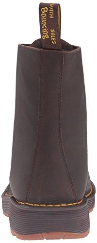 Dr.Martens Mens Lawton Peidmont Split Leather Boots Dark Brown TwiH9