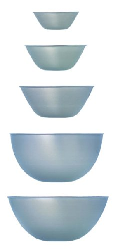Sori Yanagi stainless bowl 5 pcs]()