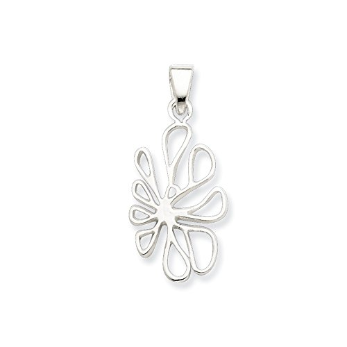 925 Sterling Silver Freeform Pendant Charm Necklace Fine Jewelry Gifts For Women For Her