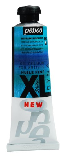 PEBEO Studio XL Fine Oil 37-Milliliter, Iridescent Blue Parma