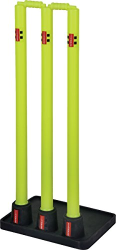 (Gray Nicolls Cricket Sports Match Net Training Rubber Based Stumps)