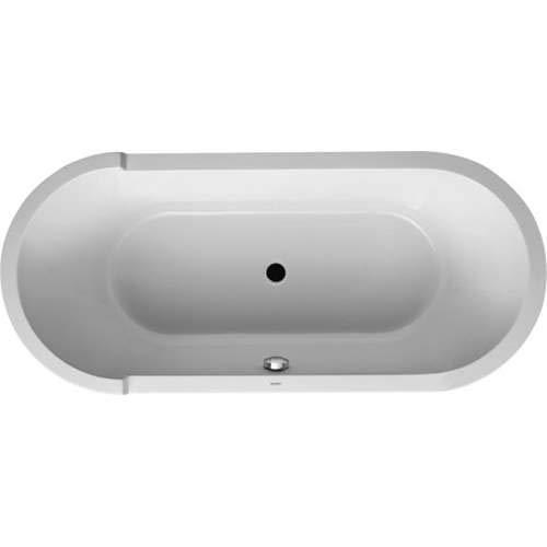 Duravit Starck Soaking Bathtub 700009000000090 White Alpin