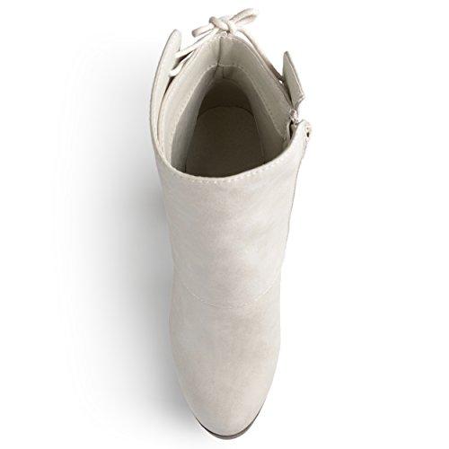 Scarpa Da Donna Tronchetto Da Donna Con Tacco Alto, In Chunky Tacco, Stivaletti Alla Caviglia