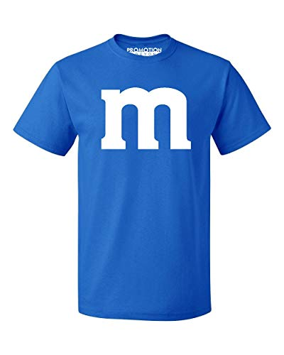 Promotion & Beyond M Halloween Team Costume Funny Party Men's T-Shirt, 2XL, Royal -