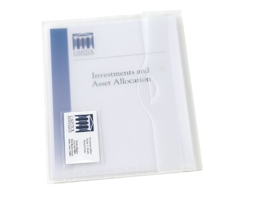 (Avery Document Wallet, Letter, Poly, Clear, 12 Pack (72278) )