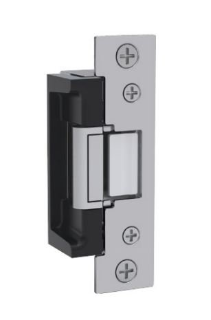 HES 7000 Series Stainless Steel Highly Durable and Versatile Electric Strike Body, 24 Volts, Satin Stainless Steel Finish
