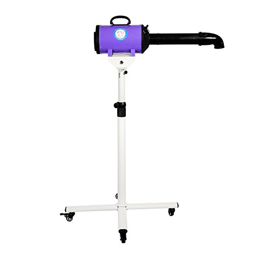 Flying Pig High Velocity Dog Pet Stand Grooming Dryer w/ Variable Air Speed & Heat (Purple) by Flying Pig Grooming (Image #2)