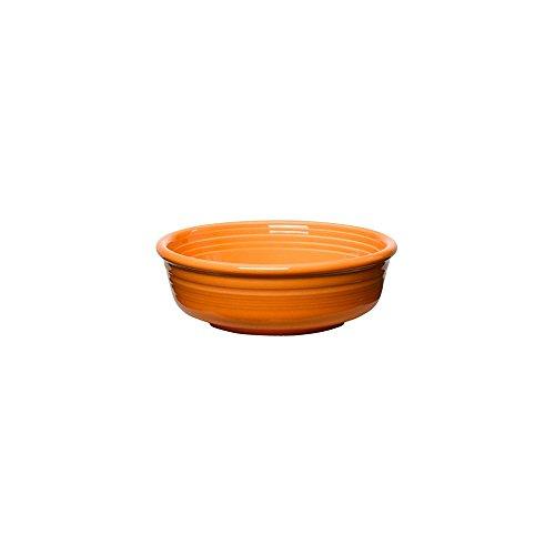 Homer Laughlin China 460325 Fiesta Tangerine 14.25 oz Bowl - 12 / CS 14.25 Ounce Small Bowl