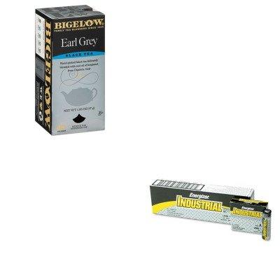 Energizer Drink - KITBTC10348EVEEN91 - Value Kit - Bigelow Earl Grey Black Tea (BTC10348) and Energizer Industrial Alkaline Batteries (EVEEN91)