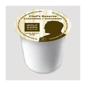 Wolfgang Puck Chef's Reserve Colombian Coffee for Keurig Brewers 24 K-Cups (4 Pack)
