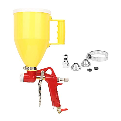 Paint Spray Gun,4/6/8mm Nozzle Professional Spray Gun, 3L 1/4in Plastic Hopper Air Spray Gun, Wall Painting Sprayer, for Paint Repair, Home Furniture, Toys and so on