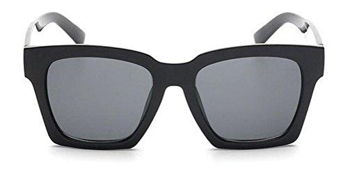 GAMT Sunglasses Tide Retro Trapezoid Frame Sun Glasses Fashion Eyewear Black Frame Black - Sunglasses Trends Latest In