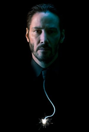 John Wick Keanu Reeves Us Textless Imported Movie Wall Poster