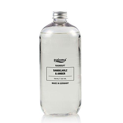 Pajoma 44820 Raumduft Nachfüllflasche Sandelholz und Amber 500 ml
