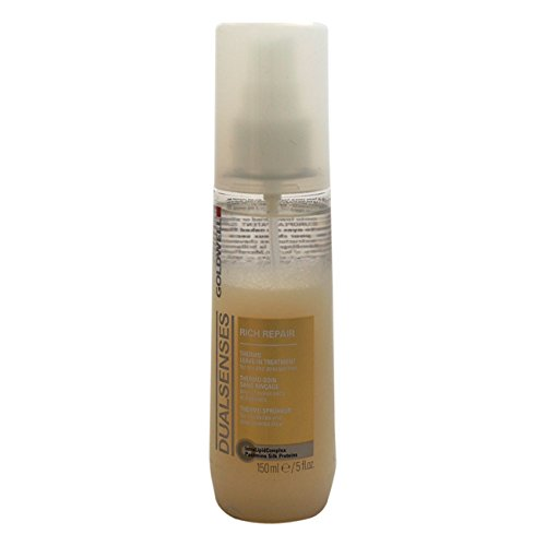 - Goldwell Dualsenses Rich Repair Thermo Leave-In Treatment for Unisex, 5 Ounce