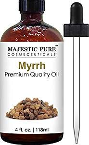 (Majestic Pure Myrrh Oil, Premium Quality, 4 fl Oz)