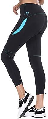Santic Culote Ciclismo Mujer Culote Bicicleta Pantalones Largos de Ciclismo//Bicicleta//MTB con Badana para Mujeres Parni