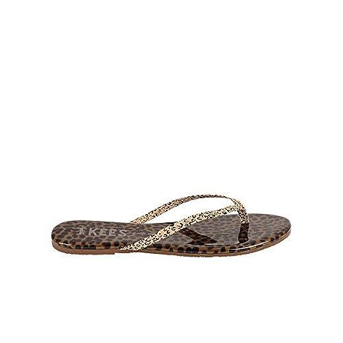 a55c5dfd2bdf45 ... Tkees Womens Face Paint Flip Flop Sandals Chatty Cheetah 6 online  retailer 68c5c aa633 ...