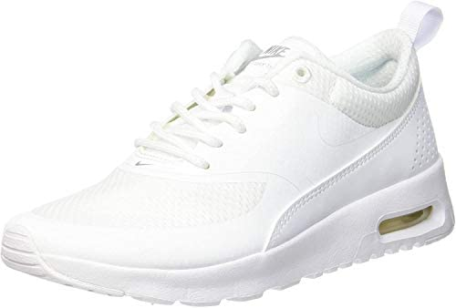 Nike Air Max Thea Big Kids Shoes White//Metallic Silver 814444-100 GS