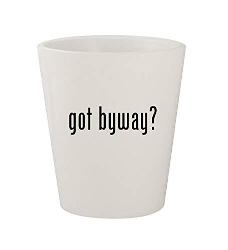 got byway? - Ceramic White 1.5oz Shot Glass