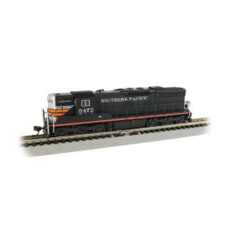 EMD SD9 Sound Value Equipped Locomotive - Southern Pacific #5472 (Black Widow) - N - Small Locomotive