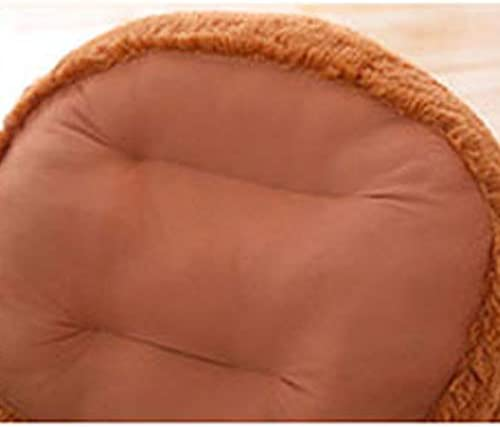 Cartoon Plush Toy Cushion Dark Brown Plush lazy sofa Baby Learning Chair Gift 50cm Soft Childrens Sofa Teddy Bear Seat Chair