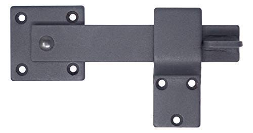 "5.5"" Hearth Creek Black Barn Door Hardware Farm Gate Latch"