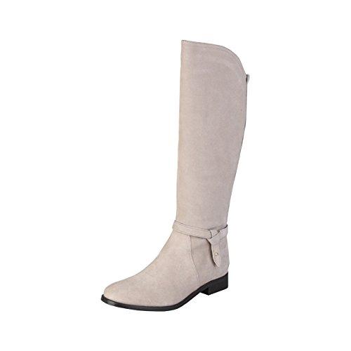 2077742_NEW_ZEN - Damen-Bootsschuhe Schuhfersen 2.5 cm Brown