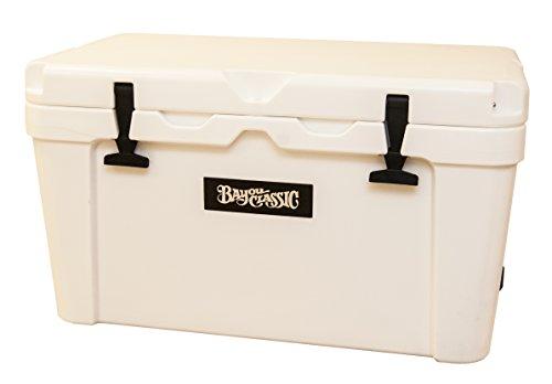 Bayou Classic BC45W BC45W-45-qt Bayou Cooler, 45qt, - Plastic Alligator Mold