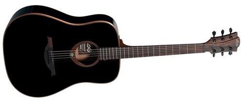 Lag Guitars Tramontane T100D-BLK Dreadnought アコースティックギター (Black) アコースティックギター アコギ ギター (並行輸入) B0052T51BM