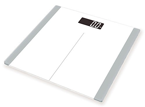 FRK Digital Body Weight Bathroom Scale, High accuracy with Tempered Glass Platform, Smart Step-on Technology, Batteries Included