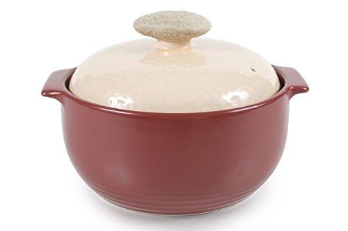 Stoneware Table - Neoflam Kiesel 2QT Stovetop Ceramic Cookware, Plum