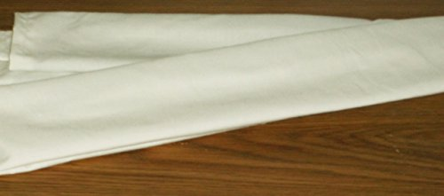 Beige Off-White Cotton Fabric Cord Cover Handmade Variety Sizes