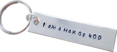 Key Chain - Hand Stamped Key chain - Hand Stamped Adjustable Keychain - Personalized Key chain ()