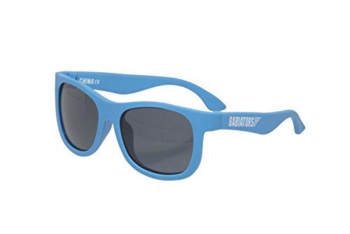 Babiators Unisex Baby Babiators Original Navigator Sunglasses, Blue Crush, Junior (0-2)