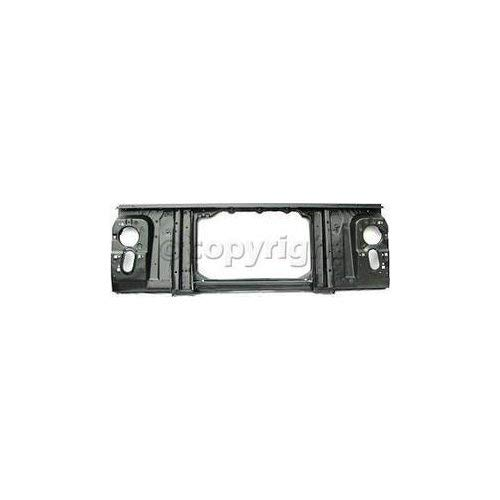 Radiator Support Compatible with CHEVROLET FULL SIZE PICKUP/SUBURBAN 1973-1980 Assembly Black Steel Chevrolet K2500 Radiator Support