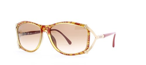 Christian Dior 2687 30 Gold and Red Authentic Women Vintage - Christian Vintage Dior Sunglasses