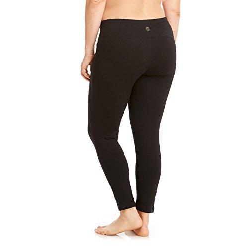 Balance High Waist Tummy Control Leggings XX-Large Black