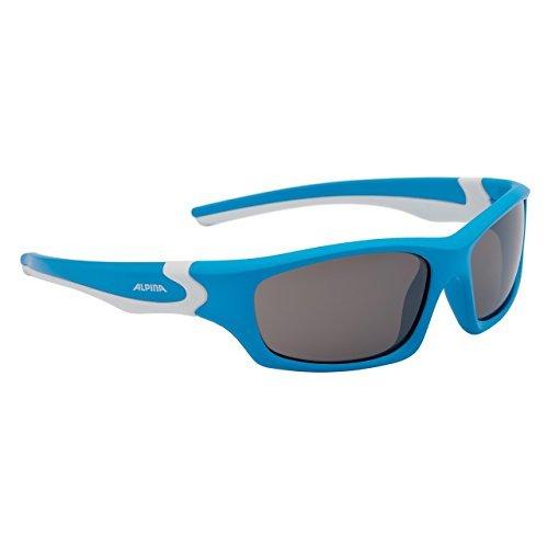 Alpina Flexxy Teen - Lunettes enfant - bleu/blanc 2016 lunettes de soleil enfant