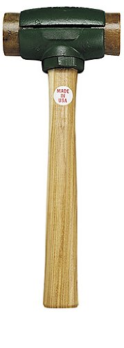 Garland 31001 Rawhide Split-Head Hammer, Size-1 by Garland