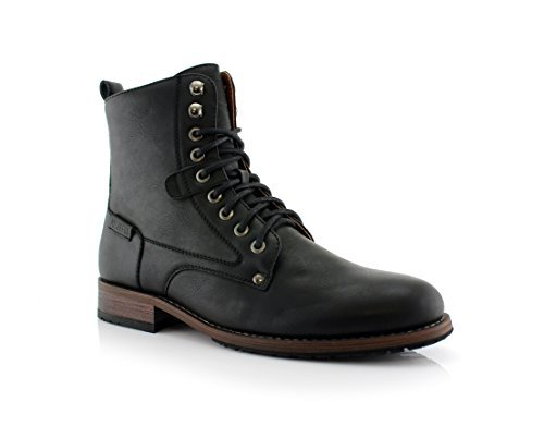 Polar Fox CURRY MPX808580 Stylish Boots (12, Black)