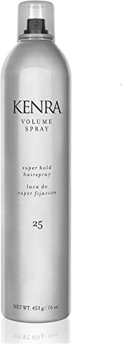 Kenra Volume Spray, Super Hold [25] 16 oz (Pack of 6) by Kenra