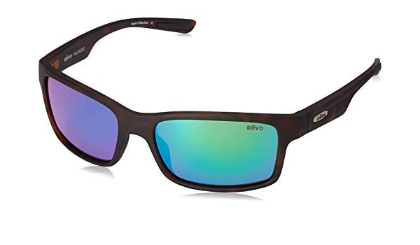 b7ff2b3767 Revo Crawler RE 1027 02 GN Polarized Rectangular Sunglasses