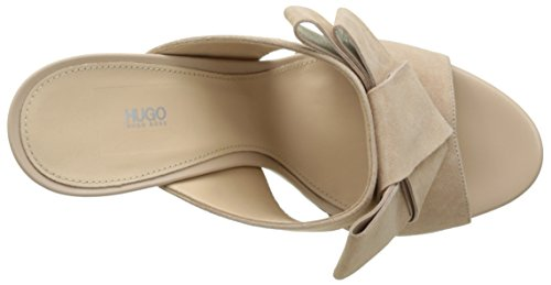 Bow Sandals Light 10197235 Heels Beige 01 HUGO Mule Women's Beige Wedge 270 fUwq6q4x