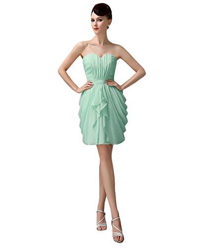 YesDress Damen Kleid Rosa Pink Rosa Mintgrün cmyFW2d7dc - magnetic ...