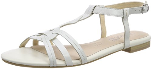 Donne Caprice 28101 Sandali Slingback Bianco (nappa Bianca 102)