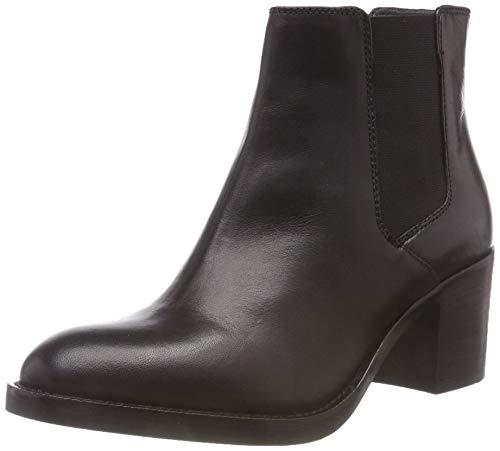 Leather Clarks Arricciati Stivali black Bay Mascarpone Donna Nero w0Pg0fAZn