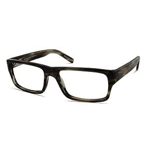 Benji Frank Mckinley 53mm Vintage Classic Retro Prescription Designer Eyeglasses Square (Greystone)