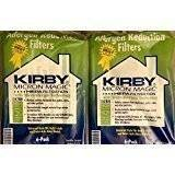 2-pack Kirby Allergen Reduction Filters, 204811 (12 Bags) ... (2) by Kirby